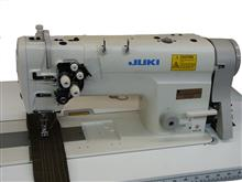 JUKI 2-NEEDLE, NEEDLE FEED MACHINE LH3528A