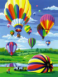 Hot Air Balloons & Parachutes